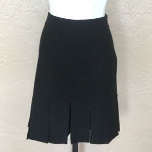 WHBM Unique Black Flapper Style Skirt 0